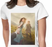1945 Painted - Outlander  Womens Fitted T-Shirt