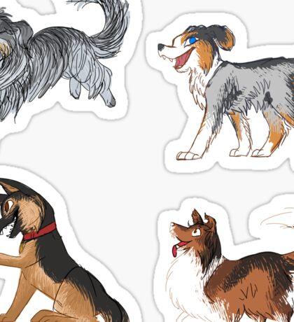 Shepherd Stickers Sticker