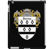 Barnes Coat of Arms/Family Crest iPad Case/Skin