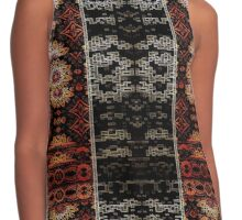 Earth Tones Eye Dazzler Contrast Tank