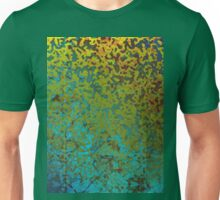 Colorful Corroded Background Unisex T-Shirt
