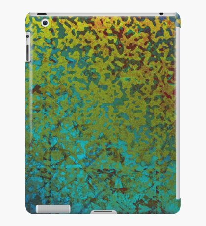 Colorful Corroded Background iPad Case/Skin