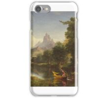 THOMAS COLE, HE VOYAGE OF LIFE, YOUTH iPhone Case/Skin
