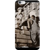 Black Women Load Gas Cans WWII iPhone Case/Skin