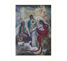 The Nativity of Angels  Art Print