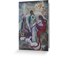The Nativity of Angels  Greeting Card