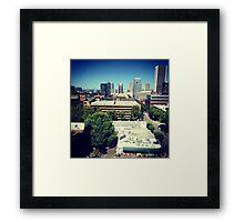 Portland, Oregon Framed Print