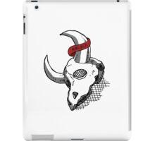 Skull of the beast iPad Case/Skin