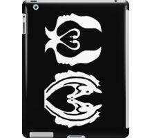 Dark Swan to horse  iPad Case/Skin