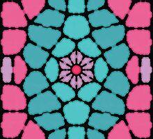 Flower core - Voronoi by enriquev242