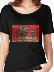 Japan Matchbox Art - Lion Monkey Dentist Women's Relaxed Fit T-Shirt