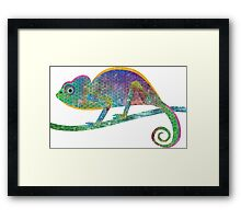 C is for Chameleon Framed Print