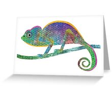 C is for Chameleon Greeting Card