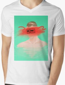The Fall– Masked Bandit Mens V-Neck T-Shirt