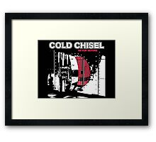 cover cold chisel never before Framed Print