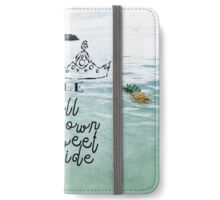 Always Wear Your Crown iPhone Wallet/Case/Skin