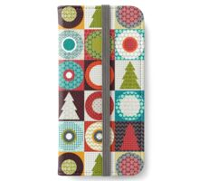geo christmas iPhone Wallet/Case/Skin