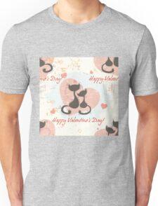 Romantic seamless pattern background Unisex T-Shirt