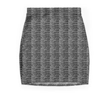 Black Ice  Mini Skirt