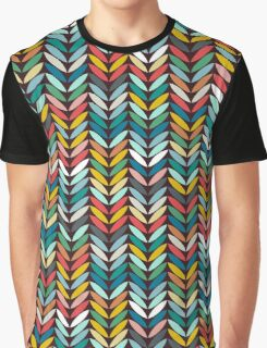 llama leaf arrow chevron dark Graphic T-Shirt