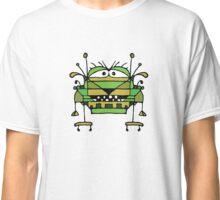 Funny Robot Cartoon Classic T-Shirt