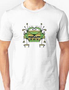 Funny Robot Cartoon Unisex T-Shirt