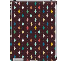 choc multi llama diamonds iPad Case/Skin
