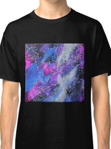Painted Universe #2 | Hand Painted Galaxy, Space Classic T-Shirt