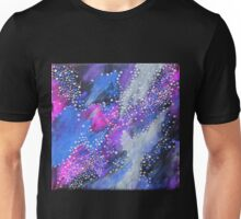 Painted Universe #2 | Hand Painted Galaxy, Space Unisex T-Shirt
