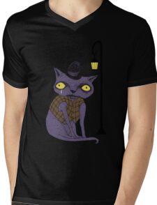Sad Cat with Moonlight Memories T-Shirt