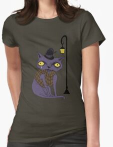 Sad Cat with Moonlight Memories T-Shirt