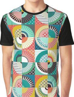 llama geo squares Graphic T-Shirt