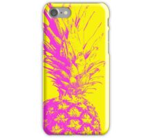 Yellow & Purple Pineapple iPhone Case/Skin