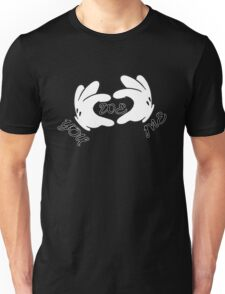 You, me, we, white hands  Unisex T-Shirt