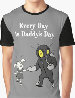 BioShock – Every Day is Daddy's Day Poster (White) Graphic T-Shirt
