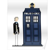 Pixel first Doctor Poster