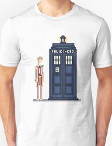 Pixel fifth Doctor T-Shirt