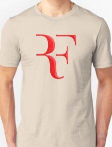 rf, roger federer, roger, federer, tennis, wimbledon, grass, tournament, ball, legend, sport, australia, nadal, net, cool, logo, perfect. Unisex T-Shirt