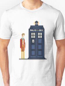 Pixel sixth Doctor T-Shirt
