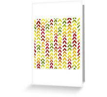 Hummingbird white Greeting Card