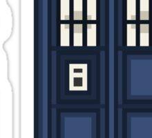 Pixel eighth Doctor Sticker