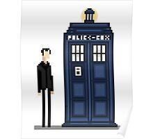 Pixel ninth Doctor Poster