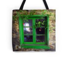 Beautifull green windows Tote Bag