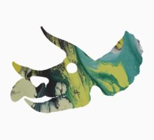 Triceratops prorsus Skull One Piece - Long Sleeve