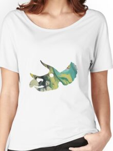 Triceratops prorsus Skull Women's Relaxed Fit T-Shirt