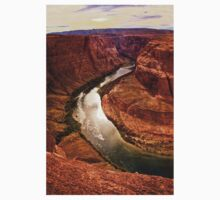 Around the Bend and Through the Canyon Walls One Piece - Long Sleeve