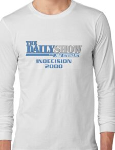 The Daily Show with Jon Stewart: Indecision 2000 Long Sleeve T-Shirt