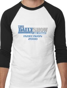 The Daily Show with Jon Stewart: Indecision 2000 Men's Baseball ¾ T-Shirt