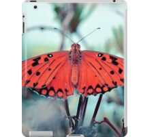 psychedelic orange butterfly iPad Case/Skin