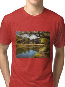 Autumn ~  Peña Blanca Lake Tri-blend T-Shirt